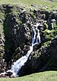 Waterfall at the head of Cuas a' tSnamha - geograph.org.uk - 465882.jpg