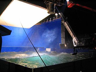 The Guardian (2006 film) - A wave pool used during filming
