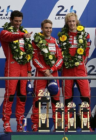 2015 FIA World Endurance Championship - Mark Webber, Timo Bernhard, and Brendon Hartley won the Drivers Championship