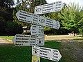 Wegeleitsystem des Schwarzwaldvereins Obertsrot Am Schwimmbad.jpg