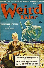 Weird Tales cover image for July 1943