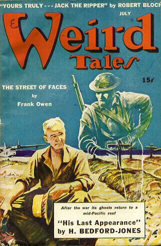 "The Scythe (short story) - ""The Scythe"" was originally published in the July 1943 issue of Weird Tales"