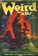 Weird Tales cover image for July 1945