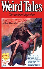 Weird Tales cover image for September 1929