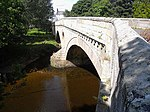 Weldon Bridge over River Coquet and Wall to North West