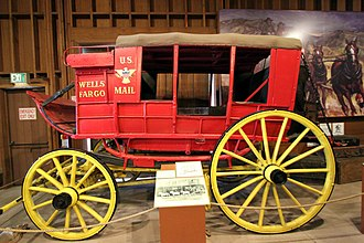 Stagecoach - Wells Fargo mud-coach