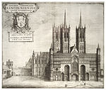Wenceslas Hollar - Lincoln Cathedral from the west.jpg