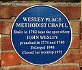 Wesley Place Methodist Chapel plaque.jpg