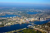 West Palm Beach Aerial November 2014 photo D Ramey Logan.jpg