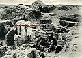 West wall of the chapel of Kaemsenu with niches for Iretnub, Kaemsenu and Werdjedptah MET 1a-26.9.1-photoFirth.jpg