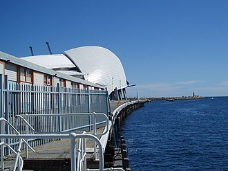 Western Australian Museum - The WA Maritime Museum building on Victoria Quay, Fremantle