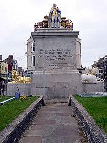 Weymouth - King George III Memorial - geograph.org.uk - 953203.jpg