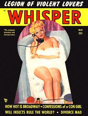 Robert Harrison (publisher) - Whisper, May 1950