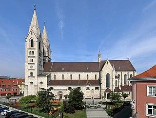 Wiener Neustadt Place in Lower Austria, Austria