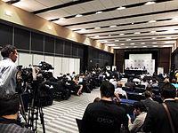 Wikimanía 2015 - Day 2 - Press Conference - LMM - México D.F. (17).jpg