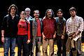 Wikimania 2009 - Richard Stallman en el teatro Alvear con asistentes (20).jpg