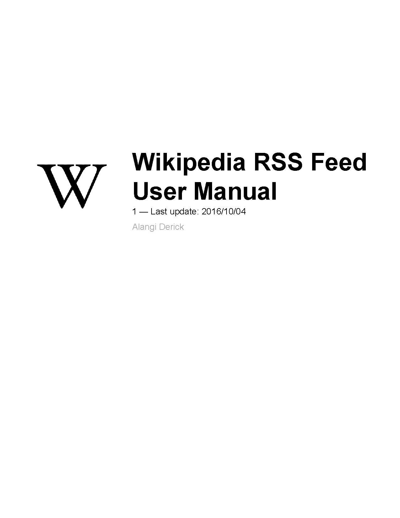 file wikipedia rss user manual pdf wikimedia commons rh commons wikimedia org Instruction Manual Example User Manual PDF