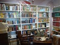 Wilbert Awdry's study, Talyllyn Railway museum.jpg