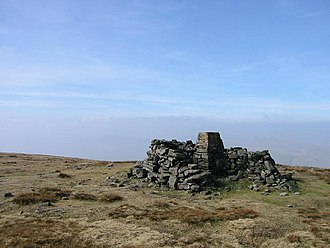 Wild Boar Fell - The summit trig point