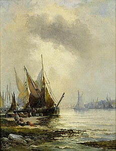 William Anslow Thornley - Low tide.jpg