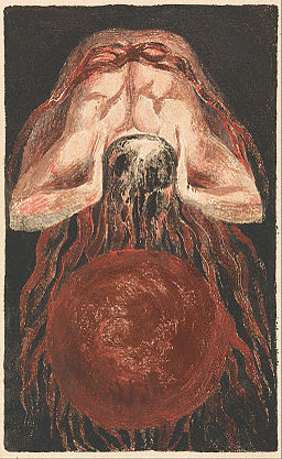 William Blake - The First Book of Urizen, Plate 16 (Bentley 17) - Google Art Project