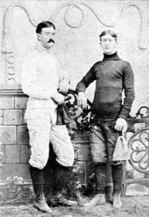 Bill Bloss - Bloss (left) in 1893