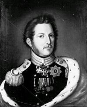 William II, Elector of Hesse - Image: William II, elector of hesse
