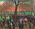 William J. Glackens - Parade, Washington Square (1912).jpg