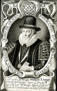 William Knollys, 1st Earl of Banbury English nobleman