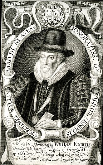 William Knollys, 1st Earl of Banbury - Image: William Knollys 1st Earl of Banbury by Simon de Passe
