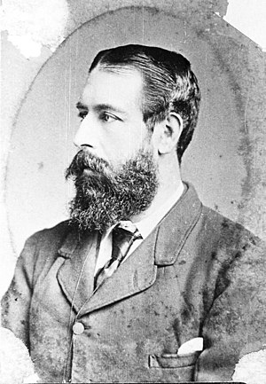 William Russell (New Zealand politician) - William Russell in ca 1878