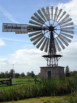 De Windmotor De Veenhoop in 2007