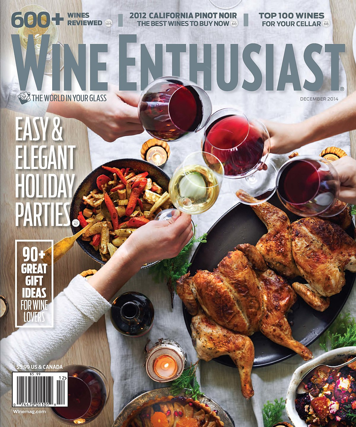 Food And Wine Magazine Covers