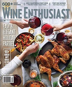 Wine Enthusiast Magazine - Image: Wine Enthusiast Magazine cover