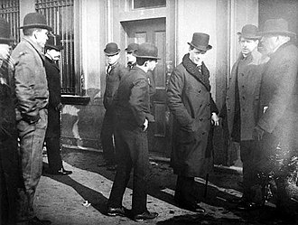 Winston Churchill in politics, 1900–1939 - Winston Churchill (third from right) in Damascus in 1912