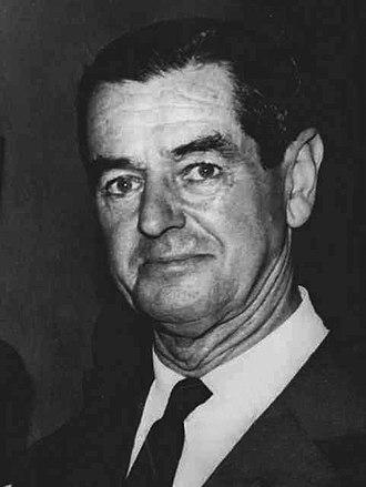 Prime Minister of Rhodesia - Image: Winston Field 1960