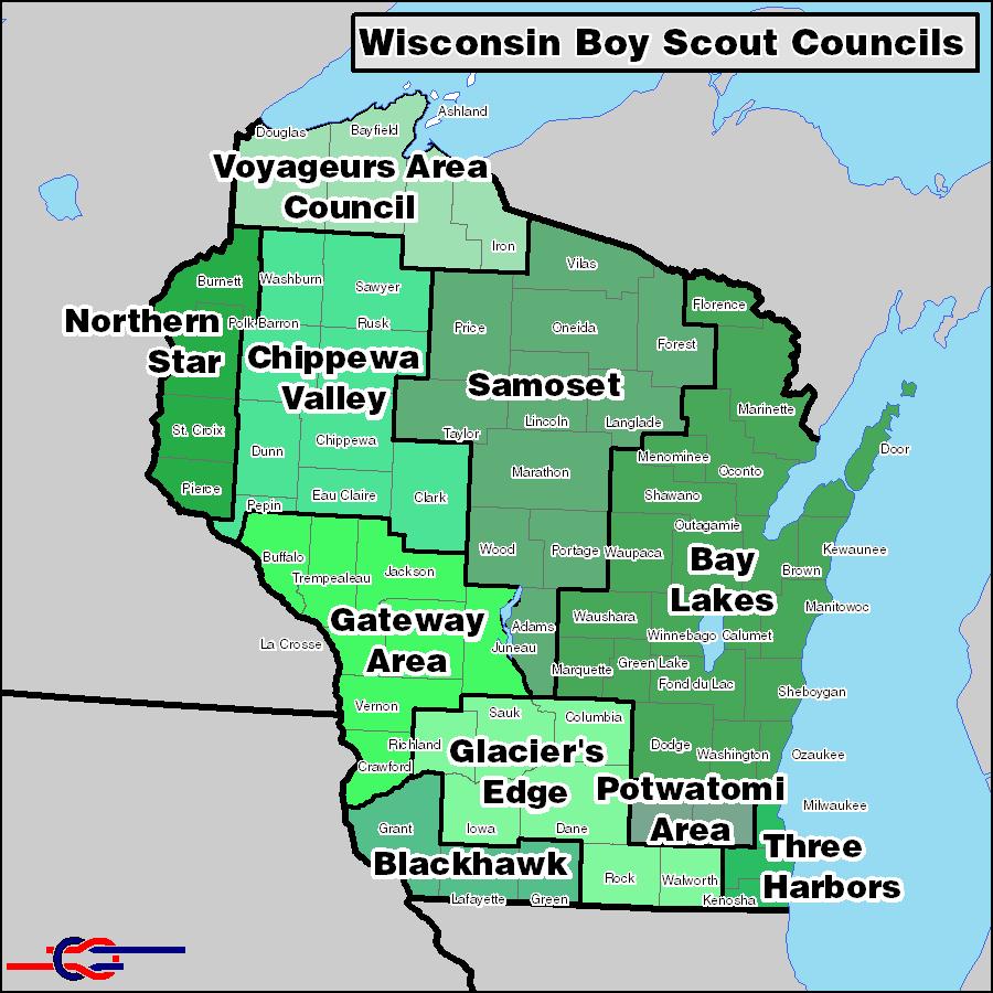 Wisconsin BSA Councils