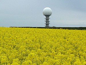 Wolds Top - The National Air Traffic Control Radar Installation(Claxby)