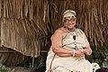 Woman at Wampanoag village.jpg