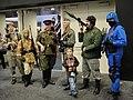 WonderCon 2011 - Oktober Guard and a Cobra soldier from GI Joe (5593931712).jpg