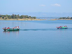 Wooden boats, Kaptai Lake (01).jpg