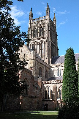 Worcester Cathedral - geograph.org.uk - 43258.jpg