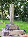 Wortley, churchyard cross.JPG