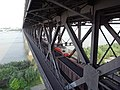 Wuhan Yangtze River Bridge - the railway level.jpg
