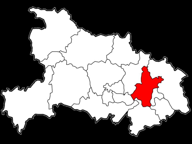 Location of Wuhan City jurisdiction in Hubei