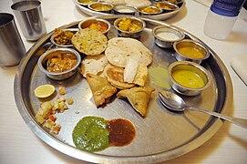 Thali wikip dia for Awadhi cuisine ppt