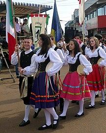 Argentina-Ethnography-XXXIV Fiesta Nacional del Inmigrante - desfile - colectividad italiana 2