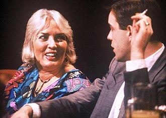Xaviera Hollander - Appearing on TV programme After Dark in 1989