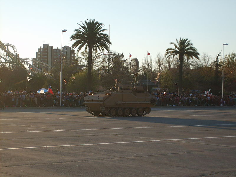 Poderio Militar chileno - Armamento Terrestre - Parte 2