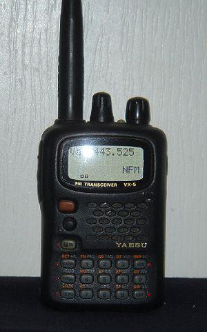 Yaesu VX series - Yaesu VX-5R